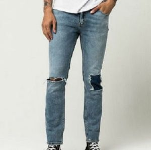 Nwt 511 Levis JEANS Ripped & Repaired 36 by 30